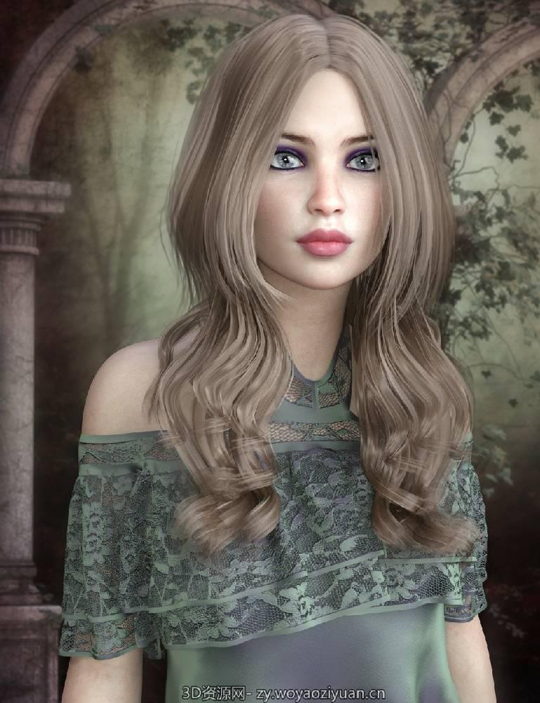 Savanna Hair for Genesis 8 Female(s)