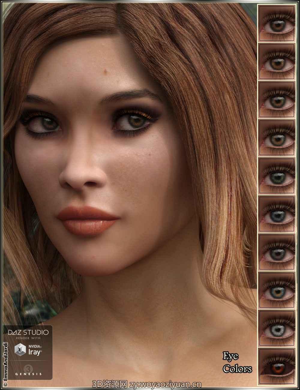 EJ Rosalia for Genesis 3 Female(s)