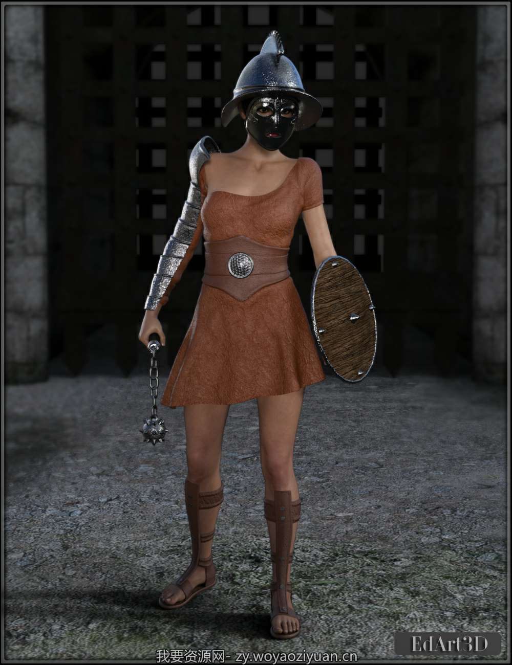 Gladiatrice for G3F