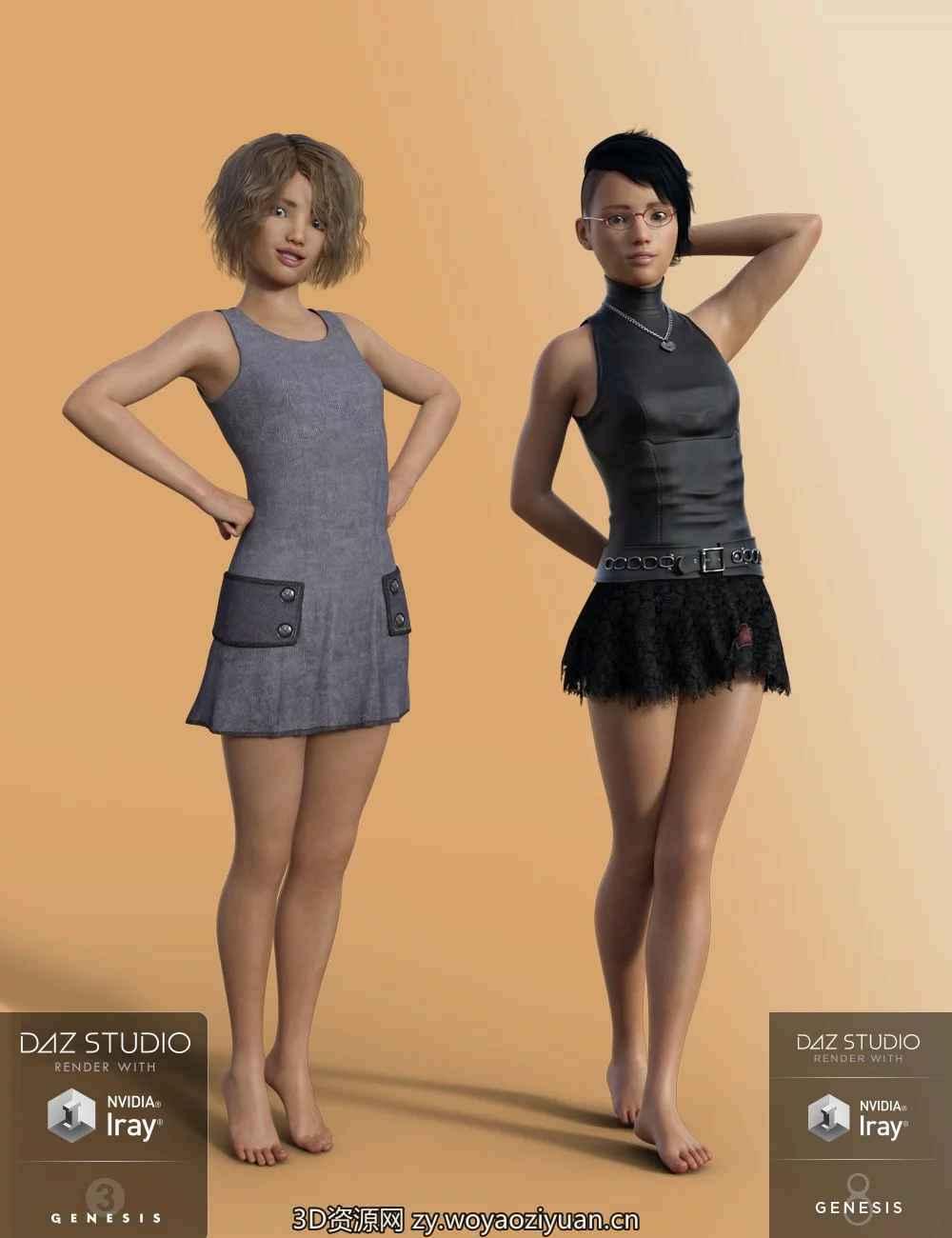 Sage for Genesis 3 Female - Daz Studio-我要资源网-daz模型资源
