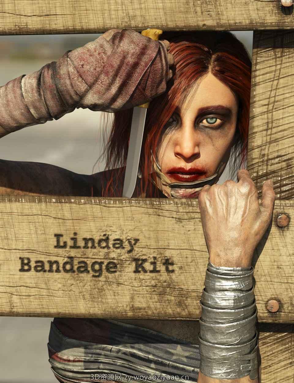 Bandage Kit for Genesis 8 Female(s)