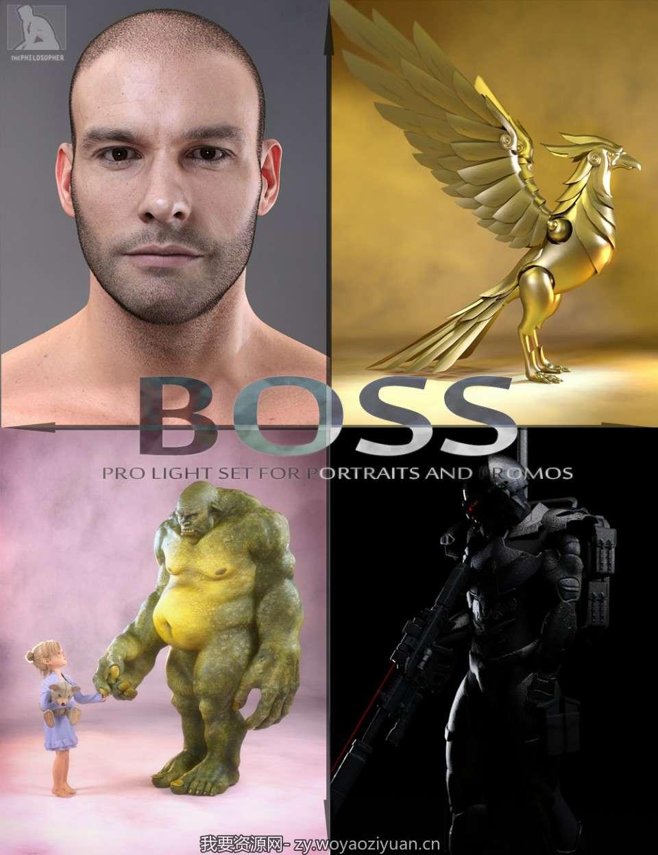 BOSS Pro Light Set for Portraits & Promos