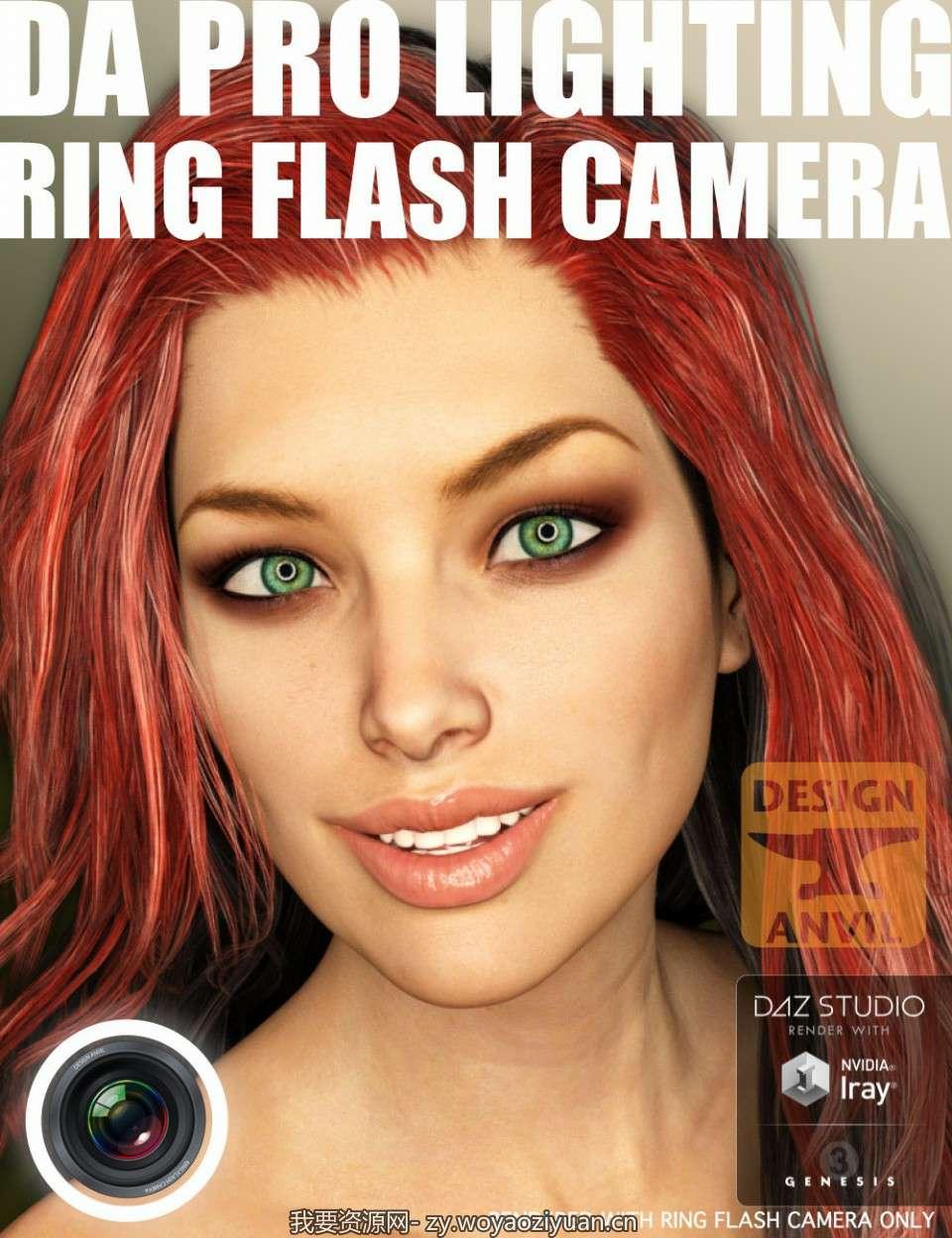 DA Ring Flash Camera