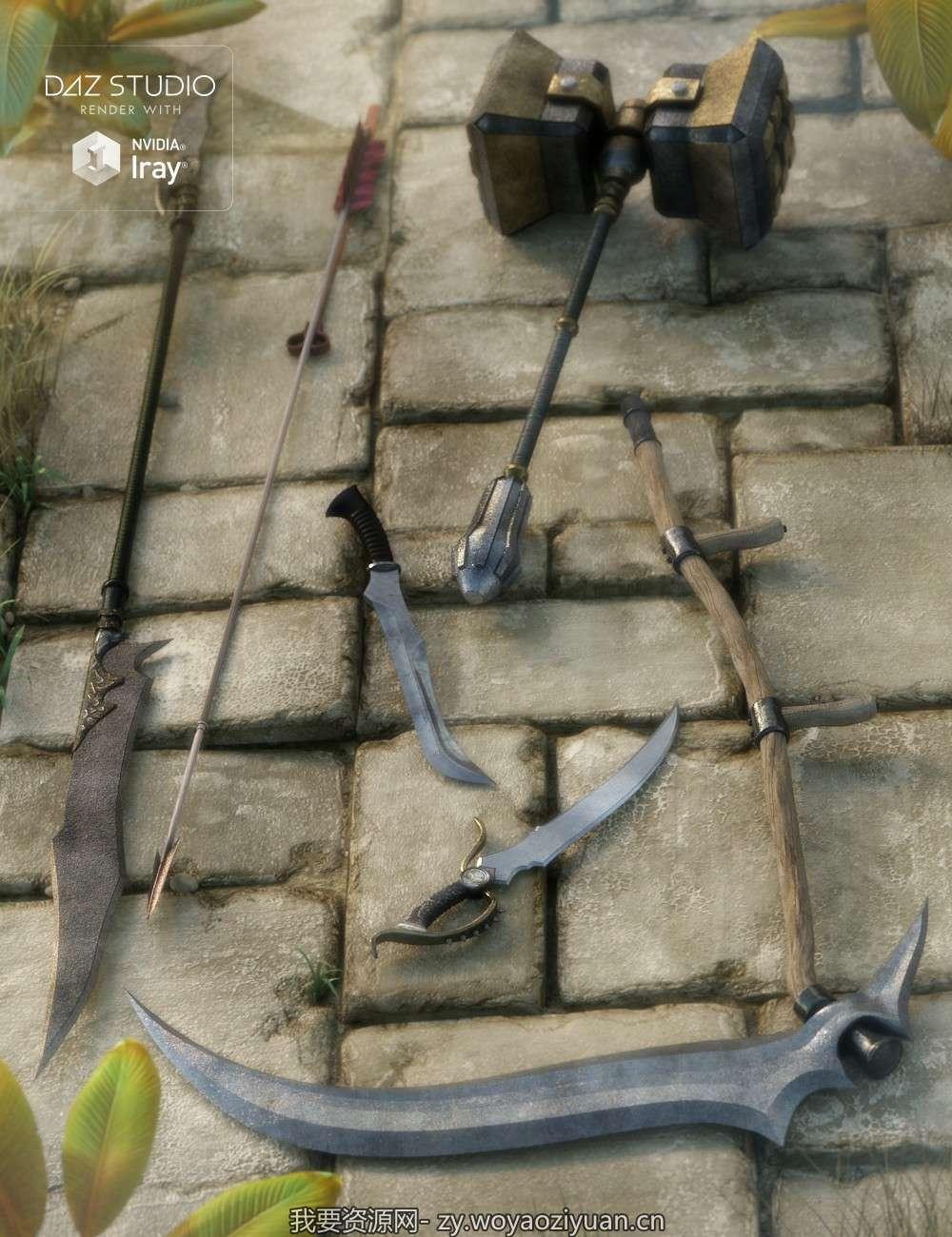 Dark Fantasy Weapons