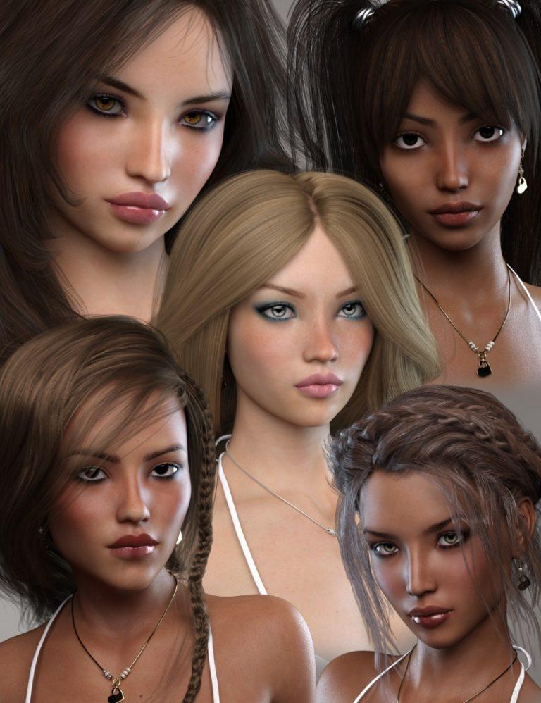 Joanne for Genesis 3 Female - Daz Studio-我要资源网-daz模型资源