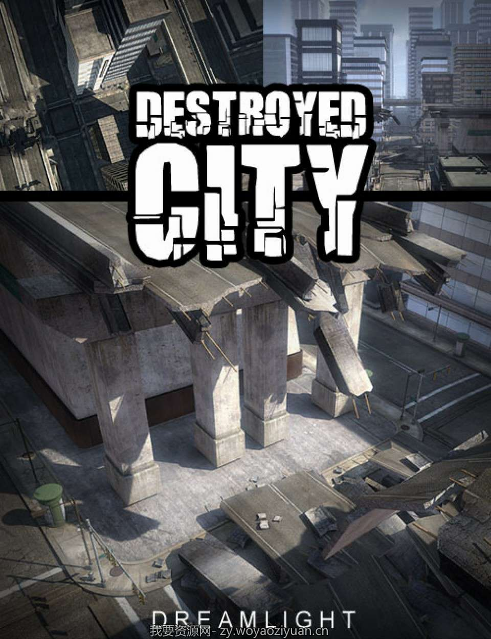 In The City_Destroyed Bridge