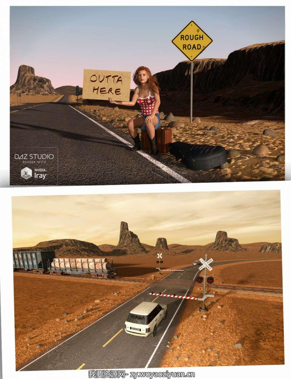 Road 'n' Rails for TerraDome 3