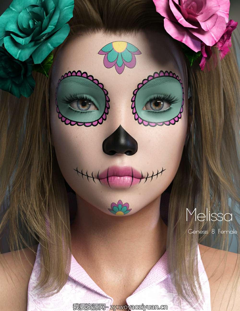 P3D Melissa for Genesis 8 Female