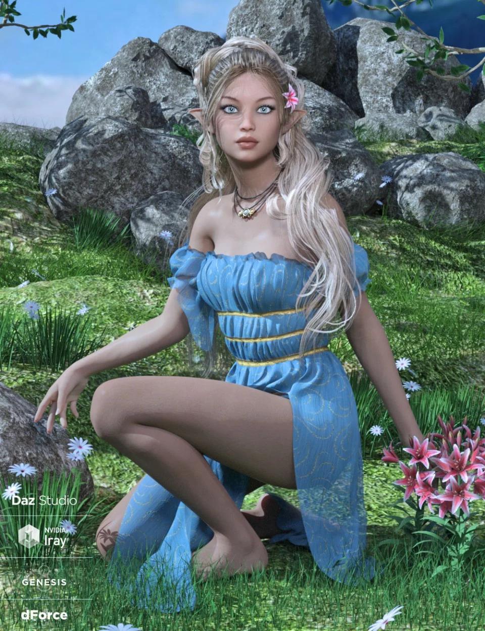 dForce Breena Outfit for Genesis 8 Female(s)