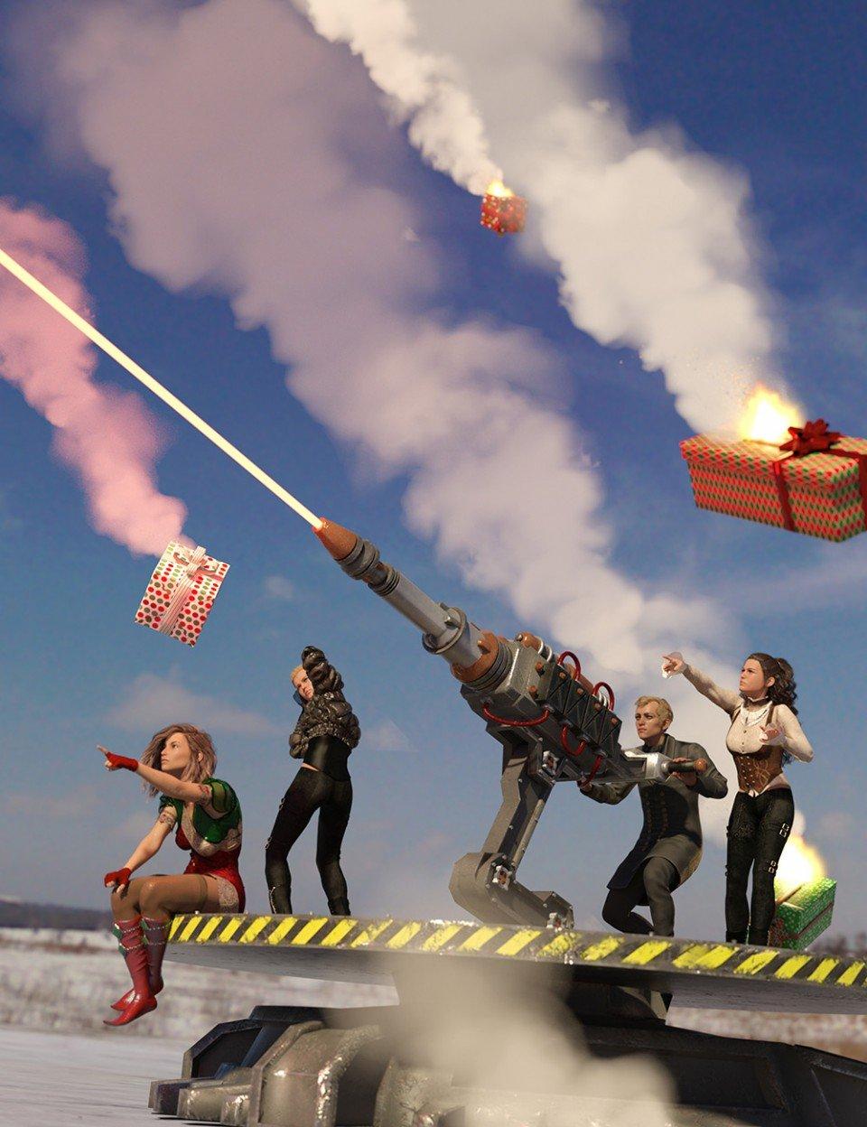 Santa Slayer Defensive Laser Cannon