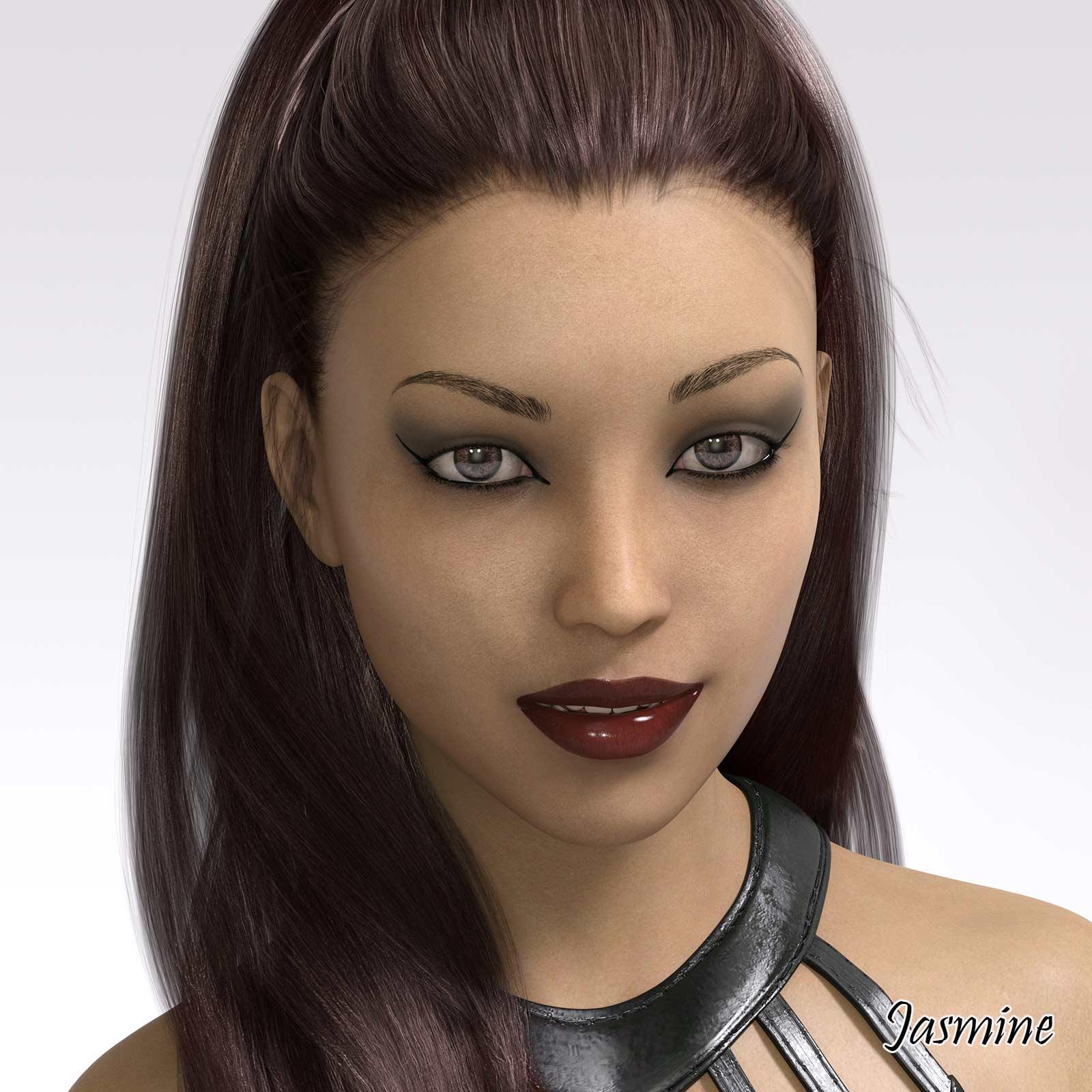 uc_art Jasmine G8F Character
