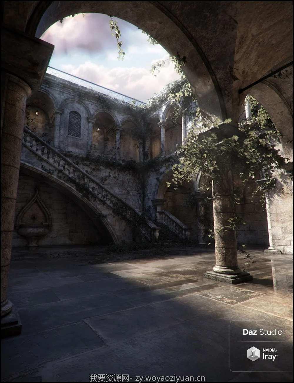 Trinity Atrium Fallen Iray Addon