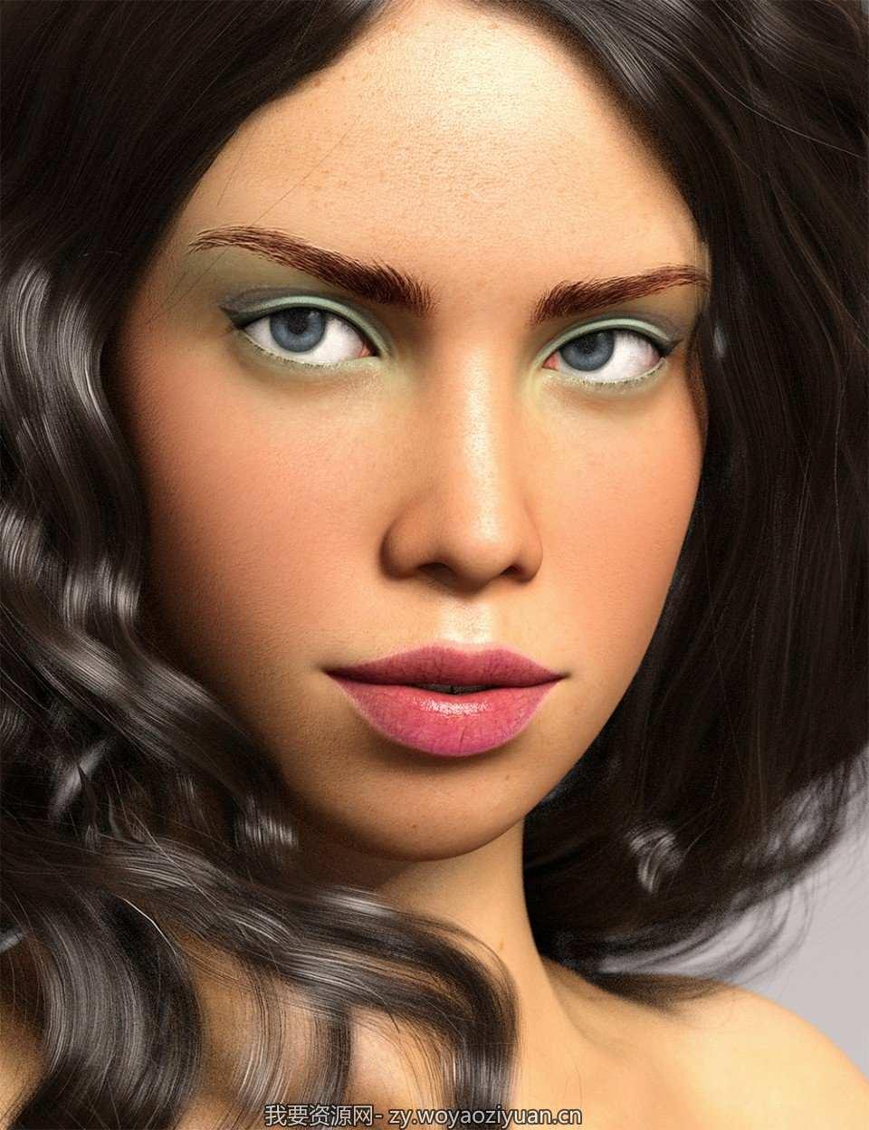 Alanis for Genesis 8 Female