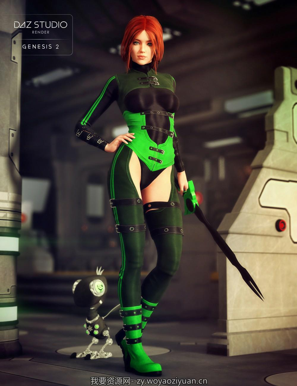 SciFi Enforcer for Genesis 2 Female(s)