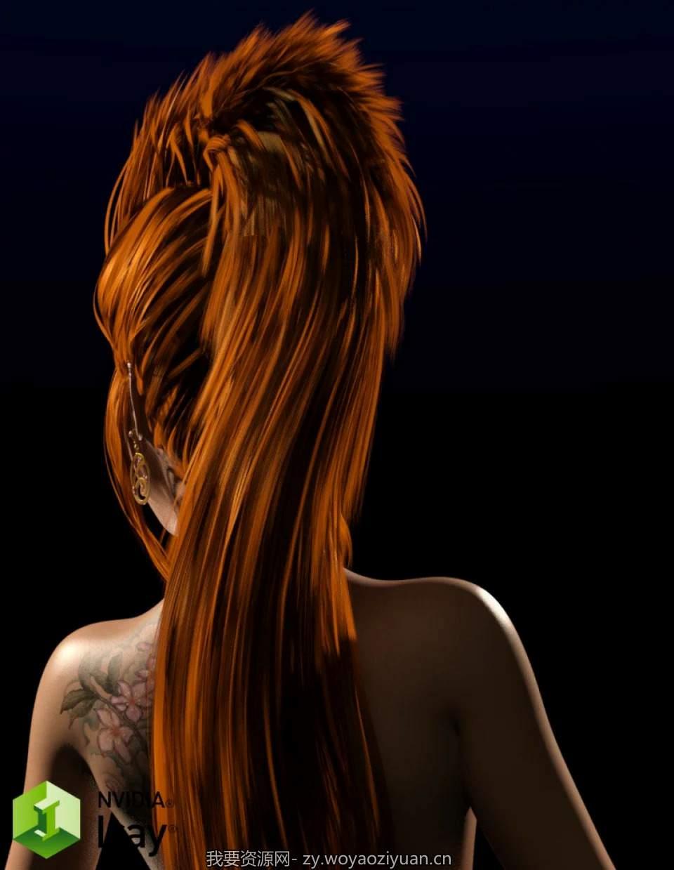 Iray 13 Shades of Brunette for DAZ Studio