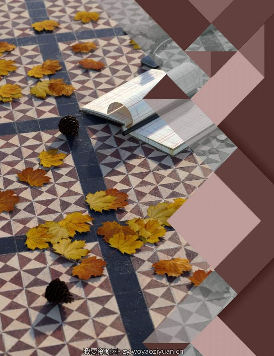 Medieval Church Floor Tile Iray Shaders Vol 1
