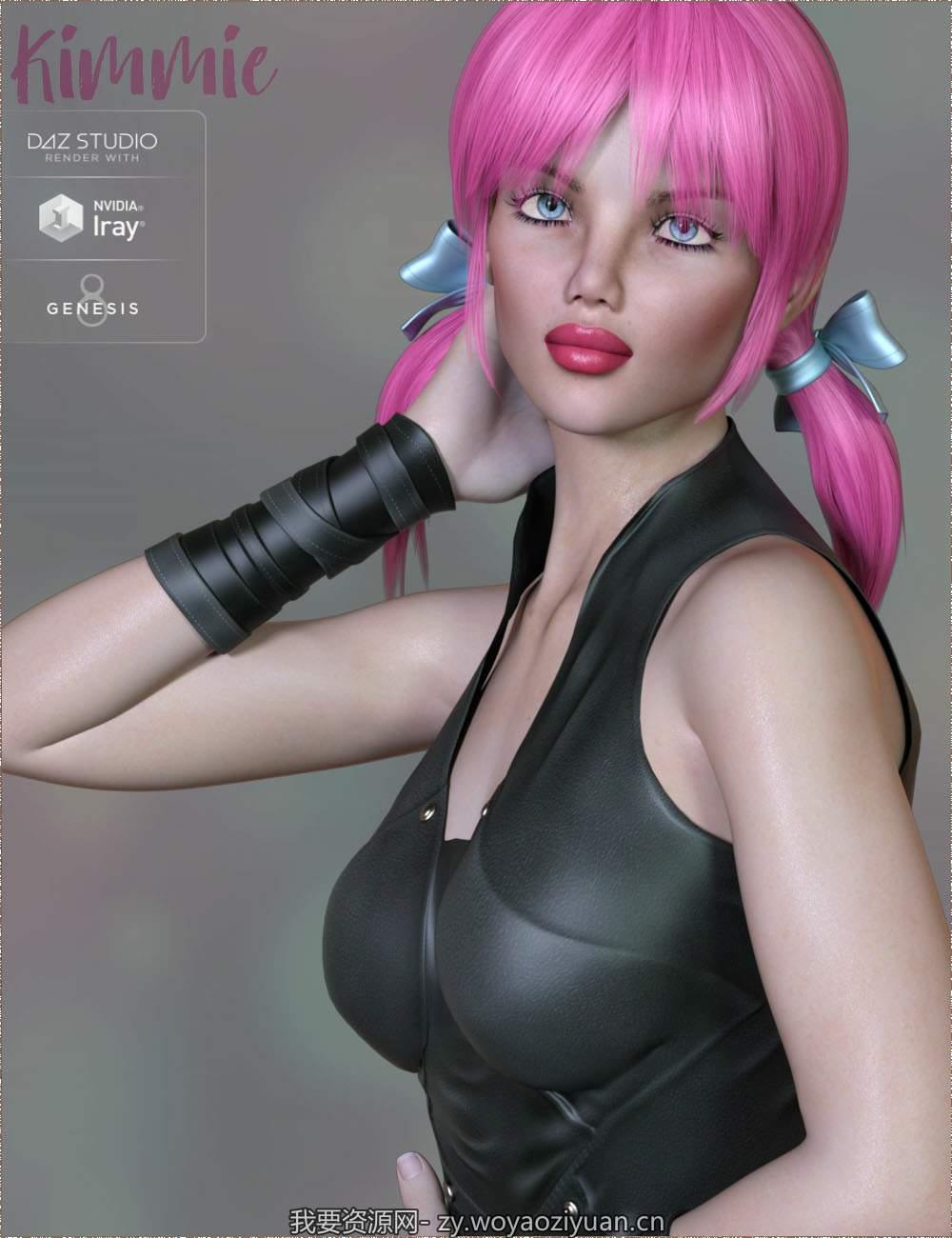 TDT-Kimmie for Genesis 8 Female
