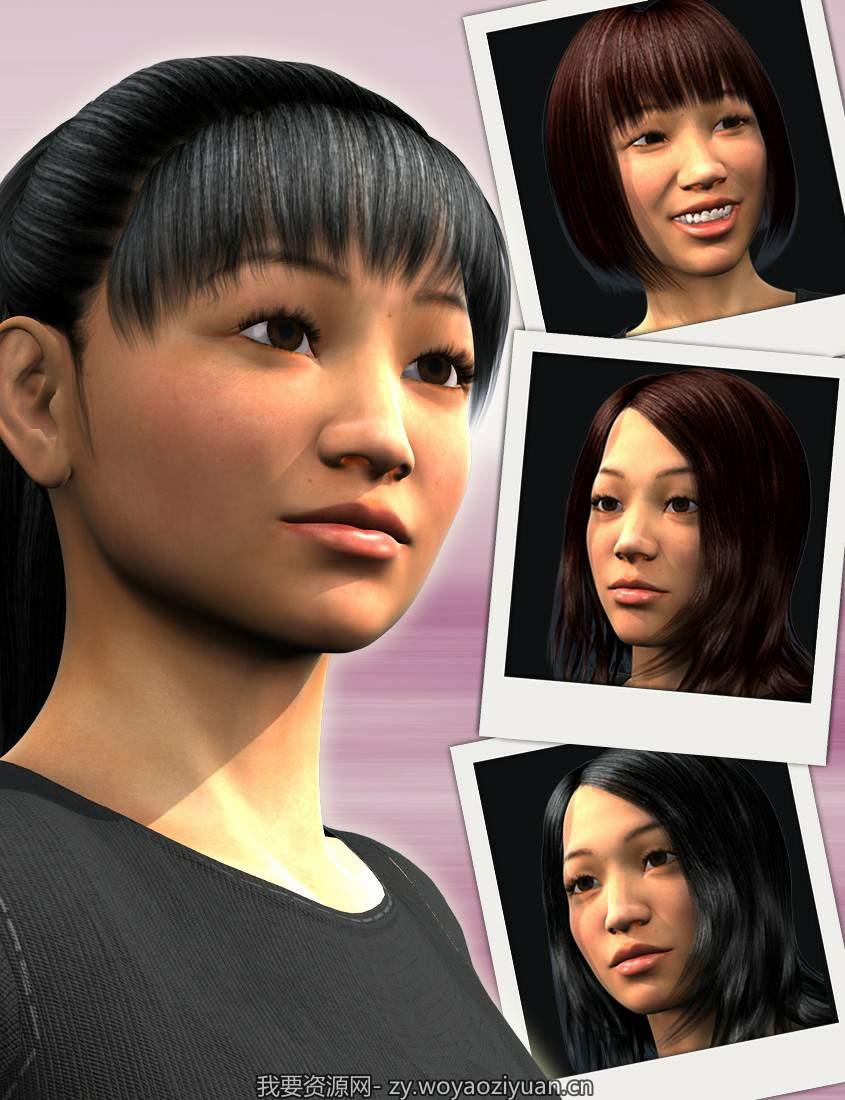 East Asia for Genesis 2 Females