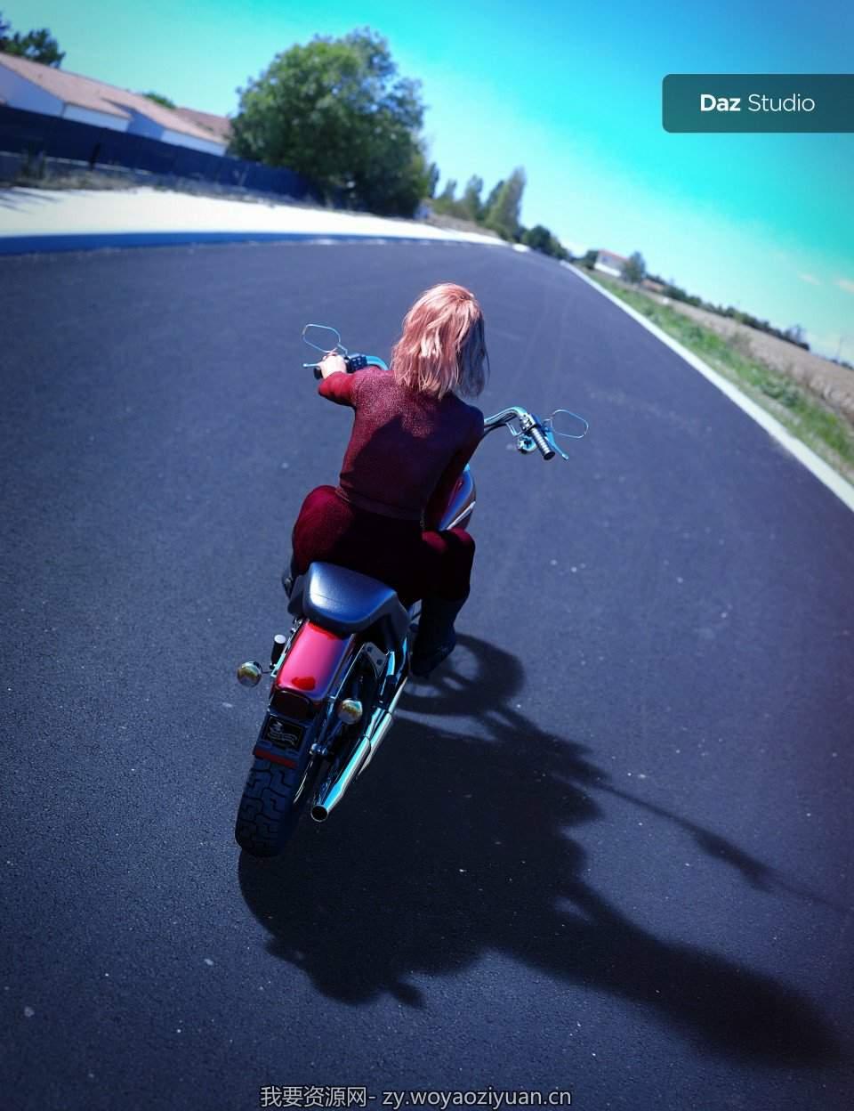 UltraHD Iray HDRI With DOF – The Road