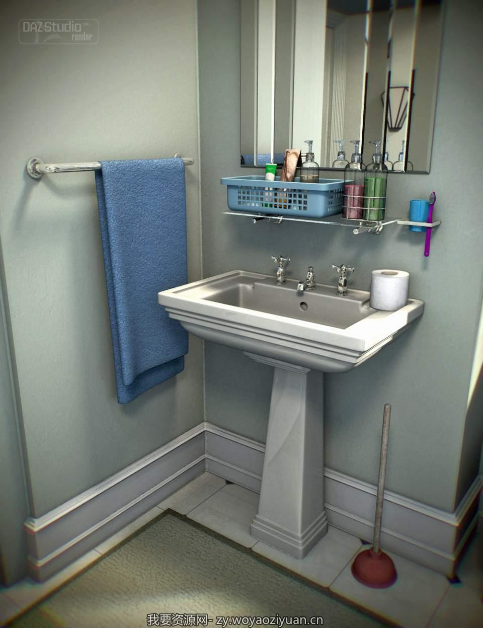 Collective3d Bathroom Stuff