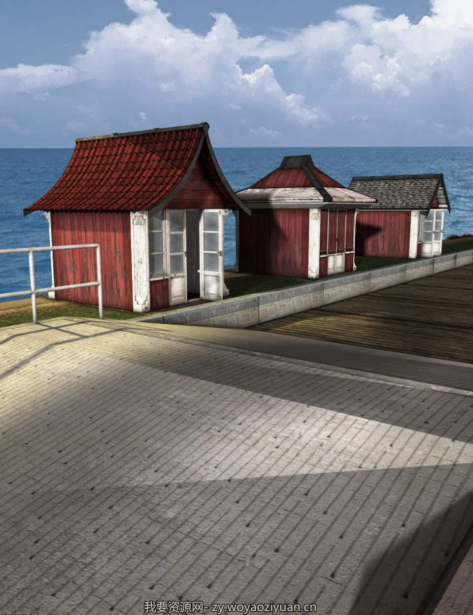 The Boardwalk Beach Huts