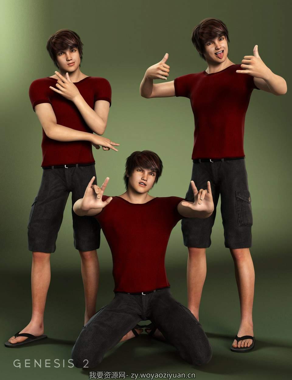 BWC Cool Teen Jayden 6