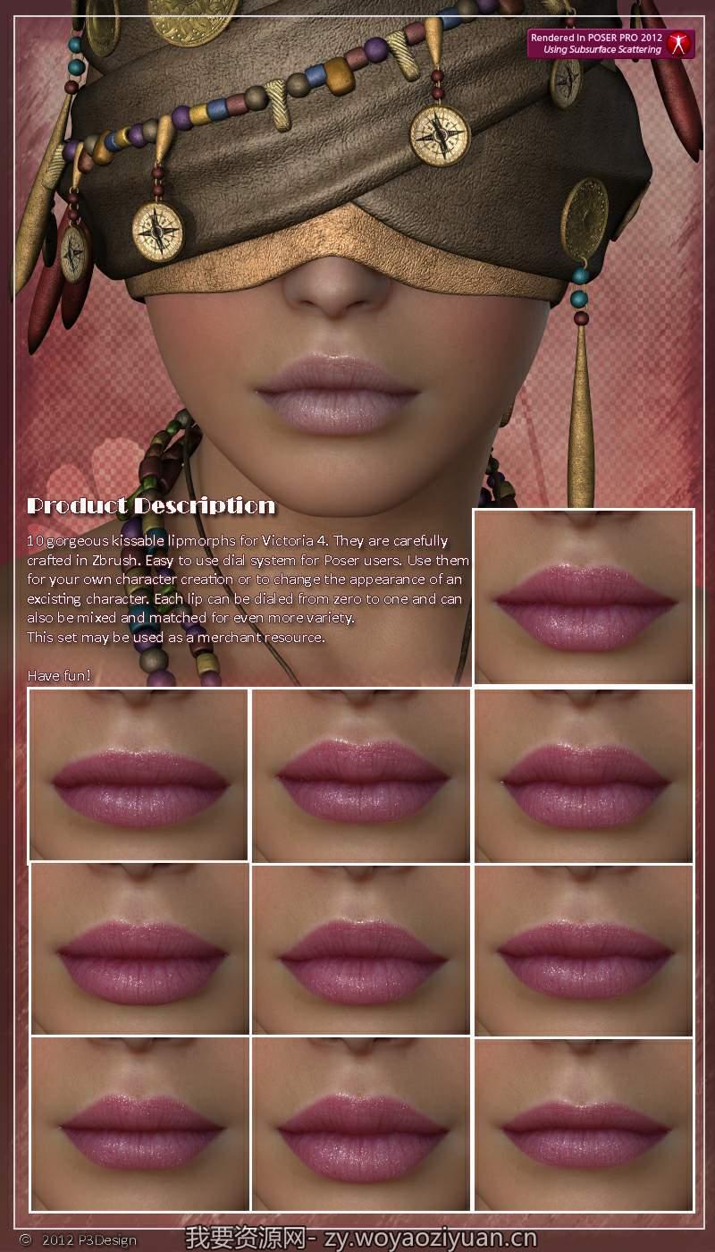 P3D Lips