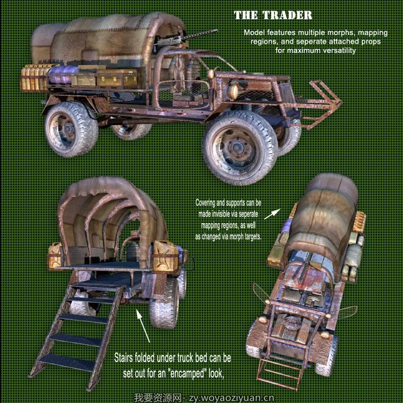 Kalebdaark Trader Vehicle