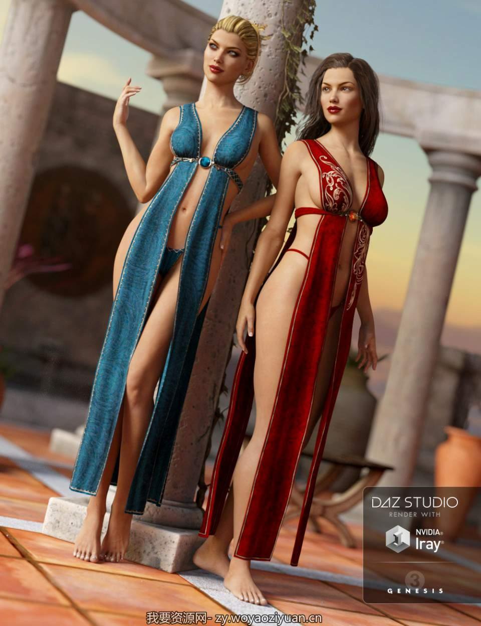 Fantasy Wrap for Genesis 3 Female(s) Textures
