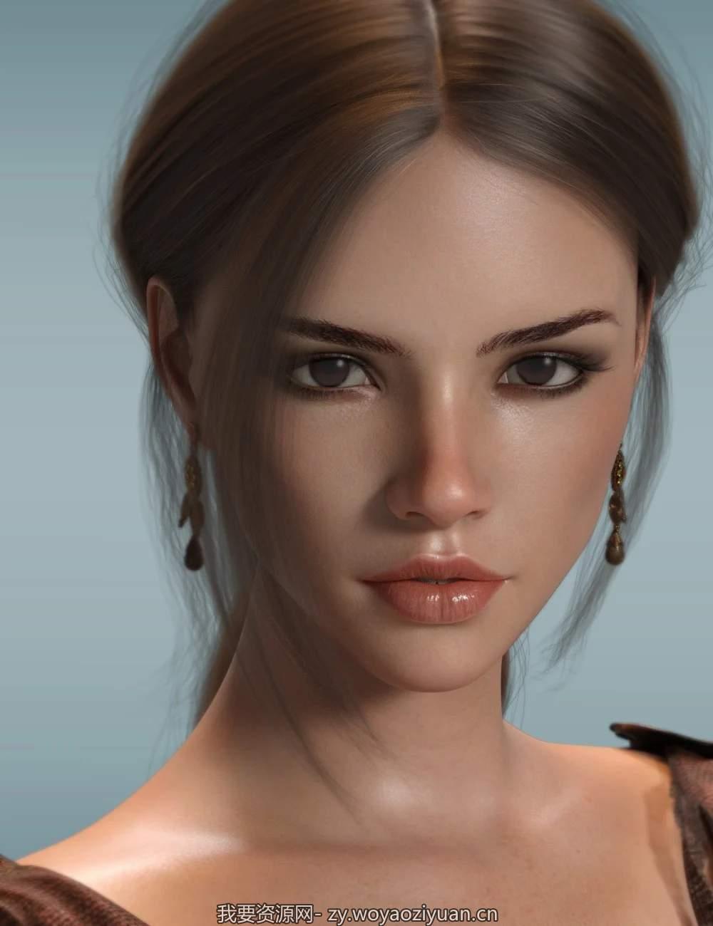P3D Aria HD for Genesis 8 Female