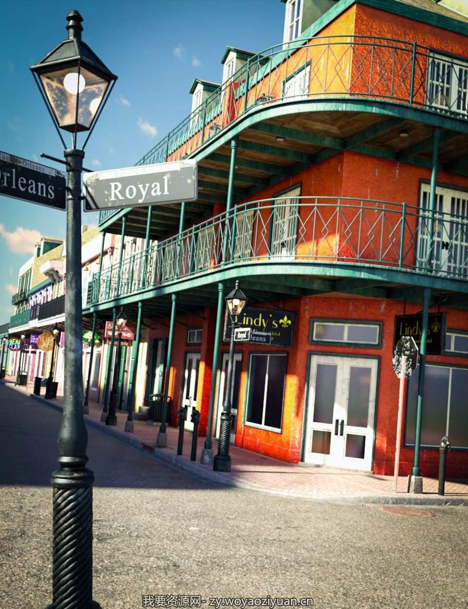 SW French Quarter – Lindy's Corner