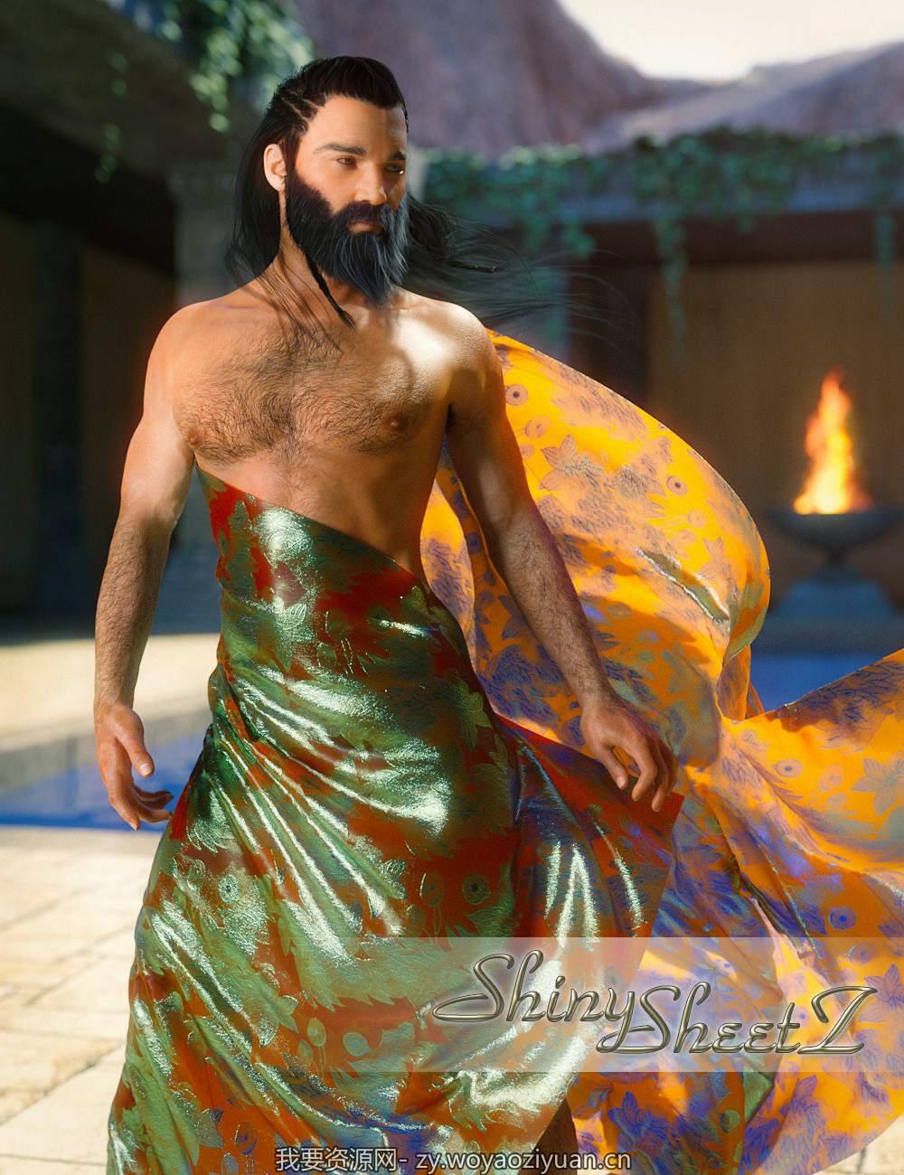 Shiny Sheetz for Genesis 3 Male