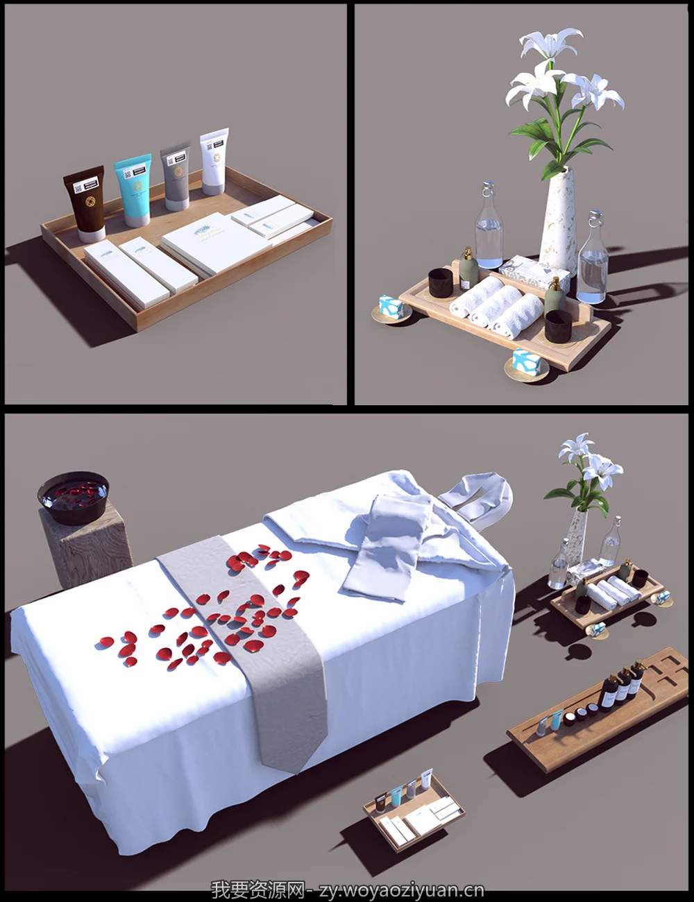 Honeymoon Bathroom Props