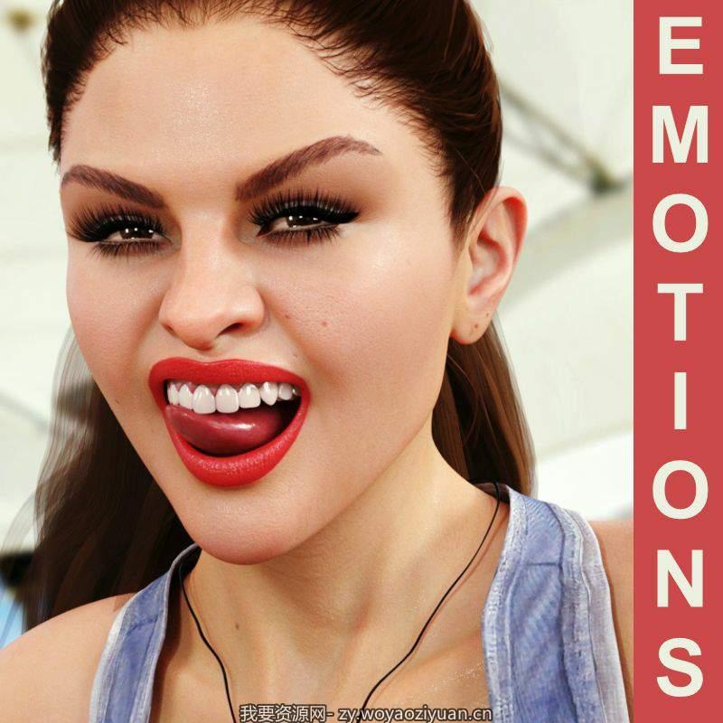 Teenage Star Emotions for G8F