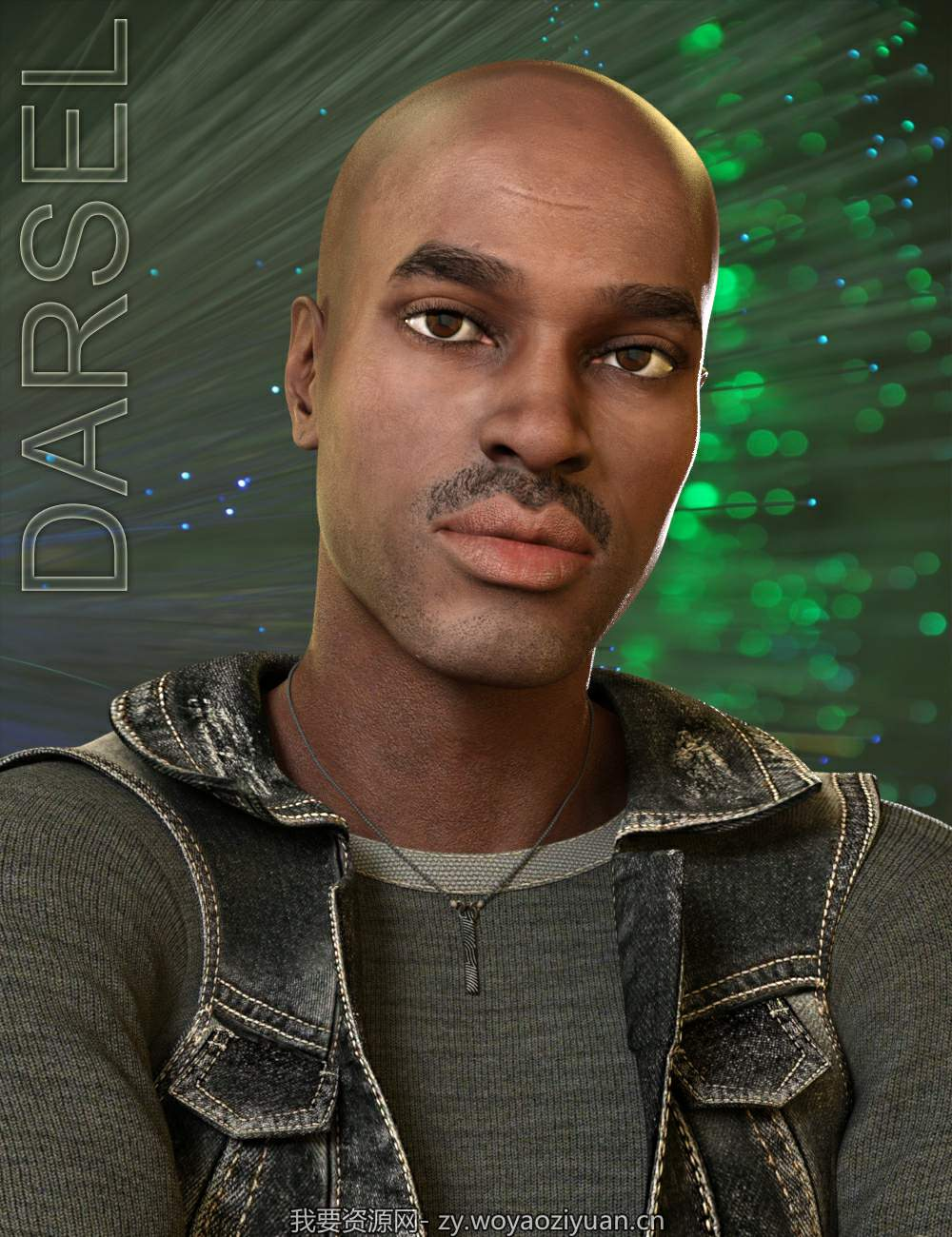 Darsel for Genesis 8 Male