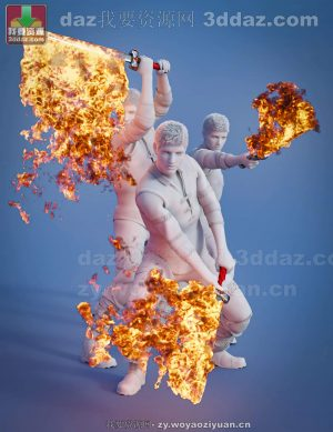Pyromantix – Fire Swords